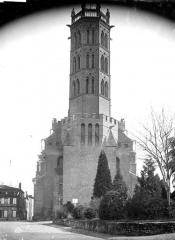 Cathédrale Saint-Antonin - Ensemble ouest : clocher
