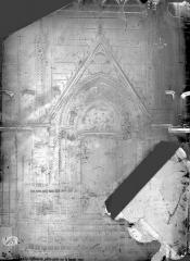 Cathédrale Notre-Dame - Abside, fenêtre