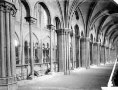Cathédrale Notre-Dame - Vue intérieure du triforium