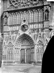 Cathédrale Notre-Dame - Portail du transept sud : ensemble