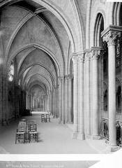 Cathédrale Notre-Dame - Vue intérieure de la galerie sud du choeur