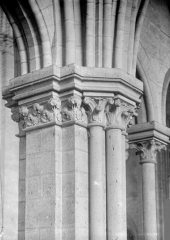 Cathédrale Notre-Dame - Chapiteaux du triforium