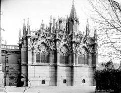 Cathédrale Notre-Dame - Sacristie : façade ouest