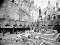 Cathédrale Saint-Front - Cloître : matériaux de la coupole