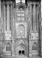 Cathédrale Saint-Corentin - Façade ouest