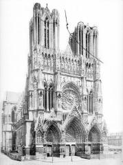 Cathédrale Notre-Dame - Ensemble nord-ouest