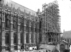 Cathédrale Notre-Dame - Façade sud : partie est
