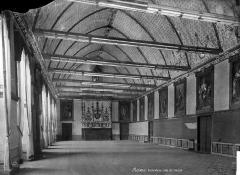 Ancien archevêché, actuellement Palais du Tau - Salle du Conseil : vue d'ensemble