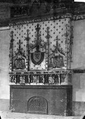 Ancien archevêché, actuellement Palais du Tau - Salle du Conseil : cheminée