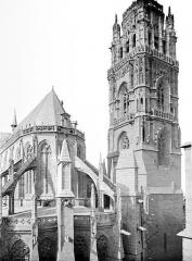 Cathédrale Notre-Dame - Abside et clocher, côté est