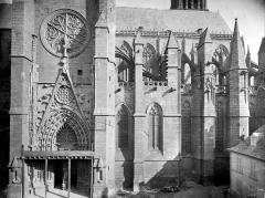 Cathédrale Notre-Dame - Façade sud : transept et abside