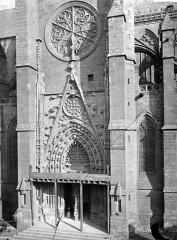 Cathédrale Notre-Dame - Transept sud : partie inférieure