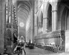 Cathédrale Notre-Dame - Vue intérieure du choeur
