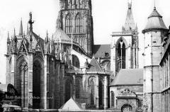 Ensemble archiépiscopal - Angle sud-est