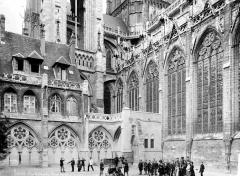 Ensemble archiépiscopal - Façade nord et sacristie