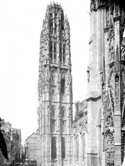 Ensemble archiépiscopal - Tour dite de Beurre, côté sud-est