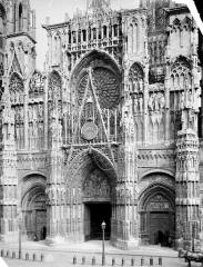 Ensemble archiépiscopal - Façade ouest : partie centrale
