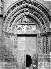 Ensemble archiépiscopal - Portail sud de la façade ouest