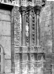 Ensemble archiépiscopal - Portail sud de la façade ouest : ébrasement droit
