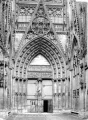 Ensemble archiépiscopal - Portail du transept nord dit des Libraires