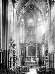 Ensemble archiépiscopal - Vue intérieure de la chapelle de la Vierge