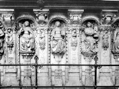 Ensemble archiépiscopal - Tombeaux du cardinal d'Amboise : statues des Vertus