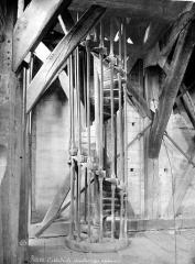 Ensemble archiépiscopal - Vue intérieure du clocher : Escalier des sonneurs