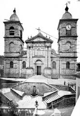 Cathédrale et cloître - Façade ouest