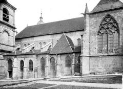 Cathédrale et cloître - Façade sud