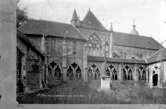 Cathédrale et cloître - Façade nord et cloître