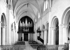 Cathédrale et cloître - Vue intérieure de la nef, vers l'entrée
