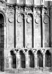 Cathédrale Notre-Dame - Portail central de la façade ouest : Ebrasement droit