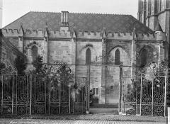 Salle synodale - Façade sud