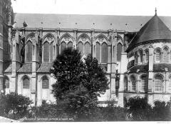 Cathédrale Saint-Gervais et Saint-Protais - Façade sud : partie centrale