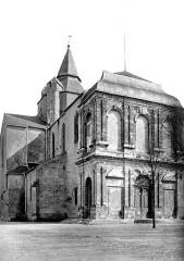 Cathédrale Notre-Dame-de-la-Sède - Angle nord-ouest