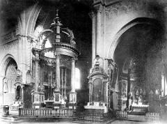 Cathédrale Notre-Dame-de-la-Sède - Vue intérieure du choeur et de la chapelle absidale sud