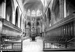 Cathédrale Saint-Etienne - Vue intérieure du choeur