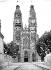 Cathédrale Saint-Gatien - Ensemble ouest