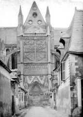 Cathédrale Saint-Gatien - Façade nord : Transept