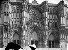 Cathédrale Saint-Pierre Saint-Paul - Portails de la façade ouest