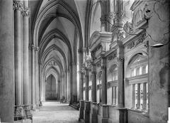Cathédrale Saint-Pierre Saint-Paul - Vue intérieure du bas-côté sud : Clôture de chapelle