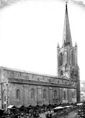 Cathédrale Saint-Martin, actuellement Notre-Dame et cloître, actuellement Musée municipal - Façade nord