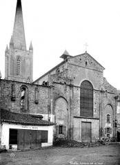 Cathédrale Saint-Martin, actuellement Notre-Dame et cloître, actuellement Musée municipal - Abside