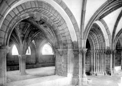 Cathédrale Saint-Martin, actuellement Notre-Dame et cloître, actuellement Musée municipal - Salle capitulaire : entrée