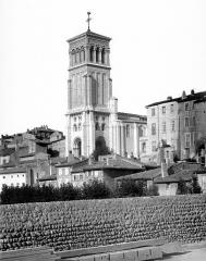 Cathédrale Saint-Apollinaire - Clocher, côté sud-ouest