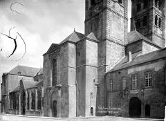 Cathédrale Notre-Dame - Façade nord vers l'est et séminaire