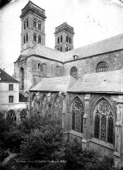 Cathédrale Notre-Dame - Façade sud, vers l'ouest