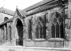 Cathédrale Notre-Dame - Façade nord : partie centrale