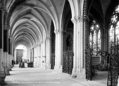 Cathédrale Notre-Dame - Vue intérieure du bas-côté sud : chapelle privilégiée