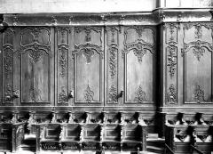 Cathédrale Notre-Dame - Stalles et boiseries du choeur
